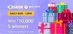 Amazon Quiz Time - Answer And Win ₹10, 000 - 20 September 2018