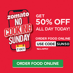 Zomato get 50% off today [all users] Working multiple times
