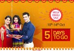 Snapdeal Mega Diwali Sale Offers 10-14th Oct