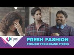 (limited loot) Fynd app- get 1500 rs + 100 rs credit on signup via refrral code (80% redeemable)