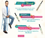 Netmeds diwali offer: shop for rs. 750 and stand a chance to win cricket goodies