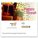 Amazon Gift Card: 5% cashback upto 100 (Only on 30th Oct)