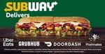 World Sandwich Day(2nd Nov) Offer on Subway - Buy 1 get 1 sandwich free at Subway