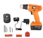 [ 62% off] BLACK+DECKER EPC12K2 12-Volts Cordless Drill (Orange)