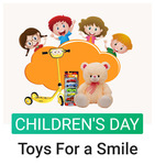 For every toy purchase, Flipkart will be giving out a toy to an underprivileged child (7th-12th Nov)