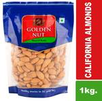 Golden Nut California Almonds 500Gram Pack of 2. Available from ₹613 only Promocode expiring soon!