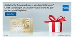 Apply for American Express Rewards® Credit Card & Get Amazon voucher worth Rs.500 on Successful Eligibility