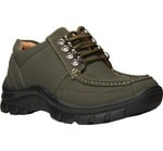 Bata Grey Outdoor Shoes For Men 50%OFF