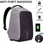 Ozoy Zofey Business Anti-theft Fabric Water Resistant USB Charging Port Laptop Backpack