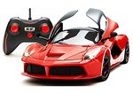 Webby Remote Controlled Super Car with Opening Doors, Red at 55% off