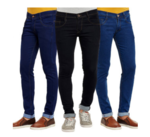 Men's Jeans (Pack of 3) @ 999