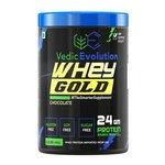 Vedic Evolution 100% Whey Protein Gold Xtreme- 1 kg (33 Servings, Chocolate)