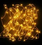 Back again; Yellow set of 2 string light {loot}