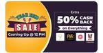 Little App Flash Sale:- Extra 50% cashback upto 300 on everything including gift vouchers