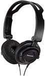 Panasonic RP-DJS150MEK-On Ear Headphones Black