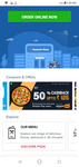 Domino's- Get 50% cashback upto 125rs through *Amazon* (first ever)