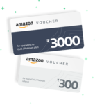 [DEAL CLOSED] Amazon Gift Voucher at 20 Percent Discount with ORO WEALTH SUBSCRIPTION