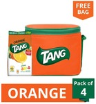 Tang Instant Drink Orange Flavor 500G (Pack Of 4) With A Free Multipurpose Bag 399, amazon without bag 500rs