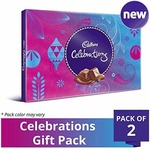 Cadbury Celebrations Assorted Chocolate Gift Pack, 193.5g (Pack of 2)
