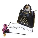 Nice Mobi Jimmy Choo Trendy & Stylish New Arrival Fashionable Shoulder Handbag For Women & Girl's(Blue)