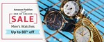 Amazon End Of Season Sale: Up to 80% Off on Watches