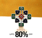 Voylla End Of Season Sale : Upto 81% Off on Earrings, Pendants, Rings, Bracelets, Chains (from Rs.99 Only)