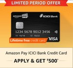 Try if you are eligible for Amazon ICICI Credit Card