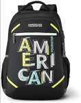 American Tourister backpack upto 80% off (masterlink) Apply coupon of 10% on few