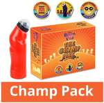 Cadbury bournvita champ pack-500 gm bournvita-pack of-2 with-free fun sipper and 20 daily cheer-stickers