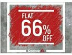 Flat 66% Off on Entire Reebok Range + Shipping