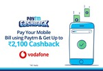Rs.50 Cashback on payment of  Rs.99 or above (Vodafone)