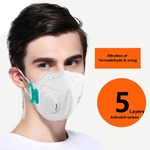 Anti Pollution Mask @ ₹99 (2 pieces) with Free Shipping