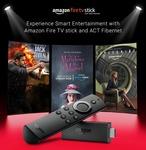 Free Amazon FireTV Stick when you Upgrade your ACT Fibernet plan to 12 months