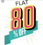 Flat 80% off on Jackets (Men & Women)