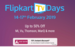 Flipkart TV Days: Upto 50% Off + 10% Off via Axis Bank Credit & Debit Cards + Play & Win 40 Inch Smart TV + Happy Hours  | 14-17 Feb