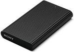 [ 70% off Lightning Deal ] Sony SL-EG5 480GB TypeC USB 3.1 External Solid State Drive (Black)