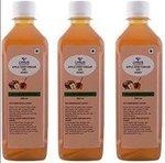 Lyrus Apple Cider Vinegar with Honey - 500 ml (Pack of 3)