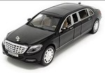 Zest 4 Toyz 1:24 Scale Die-Cast Mercedes Maybach S 600 Pullman Pull Back Sedan with Blinking Headlights - Assorted