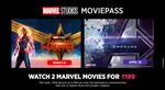 Get 100% discount upto 300 on 1 person/100% discount upto 600 on 2 person Marvel Movie Pass