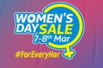 Flipkart - Women's day sale    Upto 75% off on TV & Appliances (7th - 8th march)