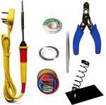 APTECHDEALS Beginners 6 in 1 Economy Soldering iron Kit