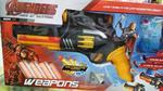 Sashi Real Looking Avengers Gun with Long Range Firing Alongue Dual Transmitter Function