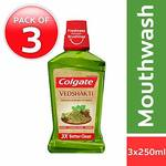 35% off on Colgate Plax Mouthwash - 250 ml (Pack of 3, Vedshakti). Apply 15% off coupon