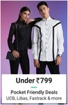 Pocket friendly fashion deals under 799 from UCB, Libas, Fastrack and more