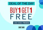 NNNOW Deal Of The Day : Buy 1 Get 1 Free on Apparels and Accessories