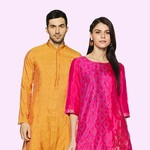 Holi festive - Men, Women and kids clothing and footwear up to 80% off
