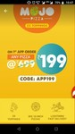 LOOT: Mojo Pizza at 99 ( For all Pay Pal Users)