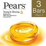 Pantry - Pears Pure and Gentle Soap Bar, 125g (Pack of 3) at rs 91