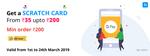 NIKI - GooglePay offer extended Get Rs35 to Rs200