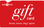Woohoo :  Flat 15% discount on BookMyShow E-Gift cards ( 3rd - 21st April)